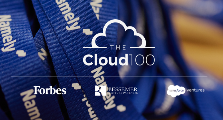 Namely Included on Forbes 2018 Cloud 100 List for Third Year in a Row