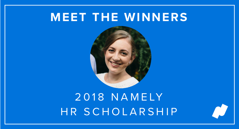 Meet Namely's 2018 HR Scholarship Winners: Jessica Pachman-Hults