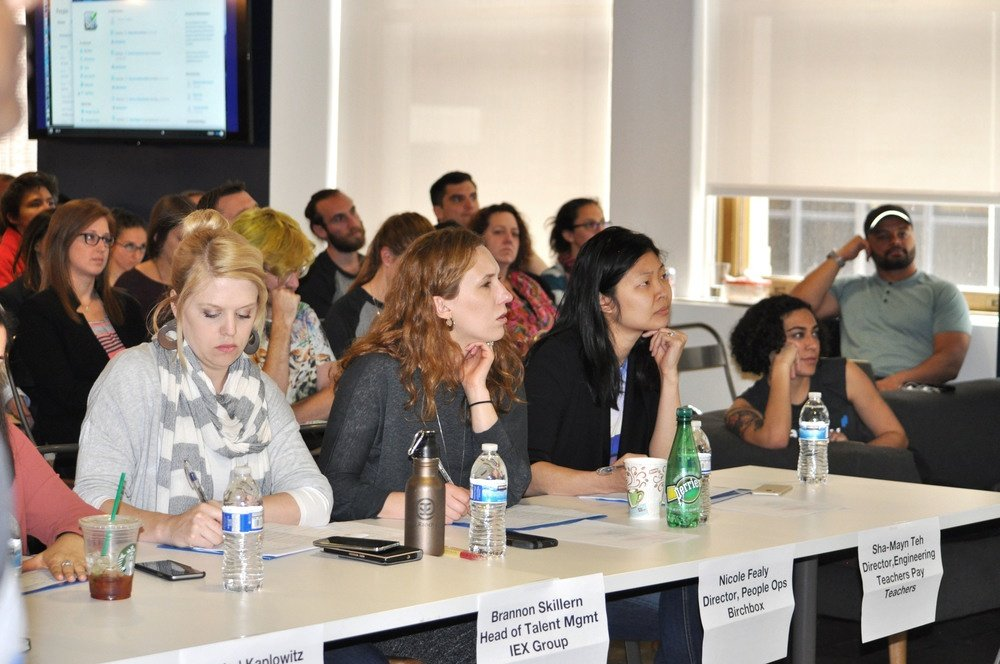Our panel of judges included Namely investors, clients, and supporters.