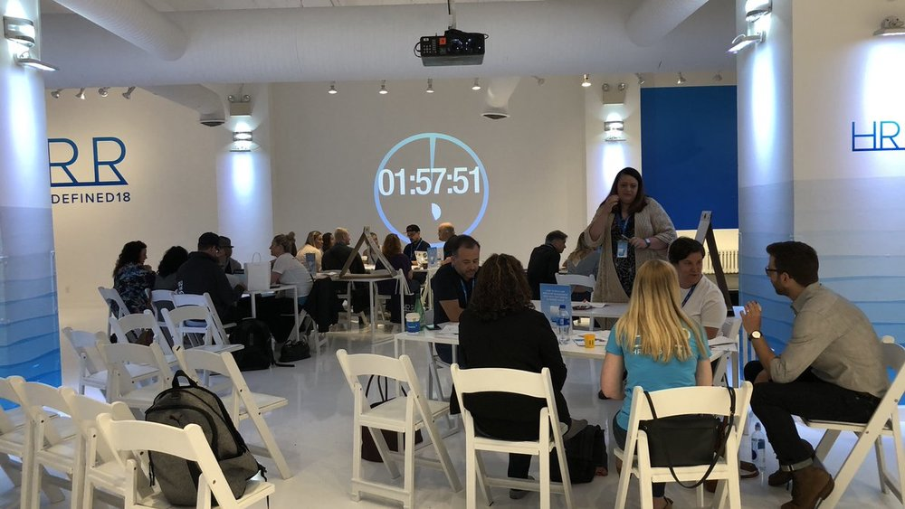 Redefined Live participants hack out their HR ideas