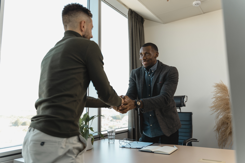 Acceptance Handshake Image