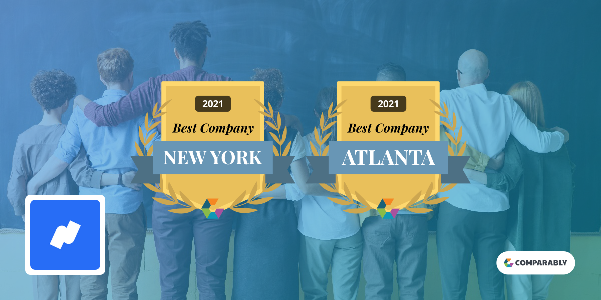 Namely Wins 2021 Best Places to Work in New York and Atlanta
