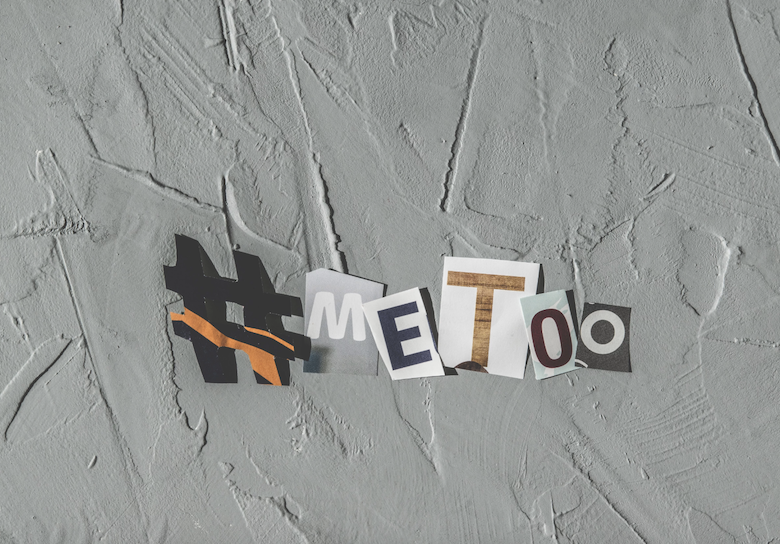 #metoo magazine cutouts