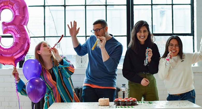 Ditch the Cake. Here Are 14 Creative Ways to Celebrate Work Anniversaries.